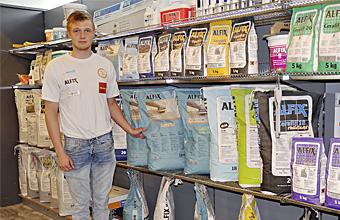 Danmarksmesteren foretrækker Alfix