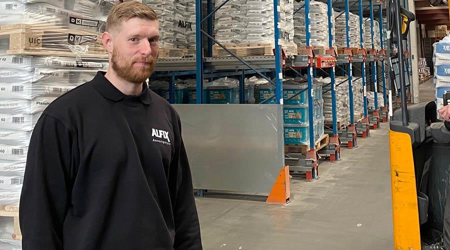 Möt en Alfix-medarbetare – Martin J. Olesen, lagerförvaltare